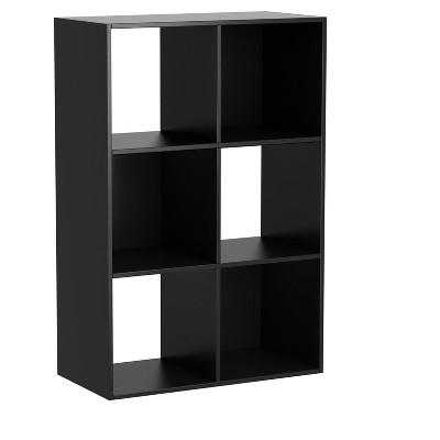 6 - Cube Organizer 35.38  - Black - Homestar