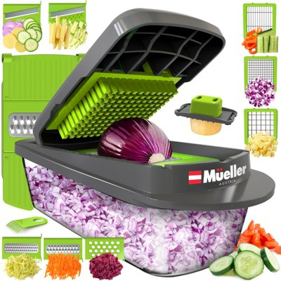 Mueller Austria Pro-Series 8 in 1 Multi-Use Slicer and Dicer - Gray