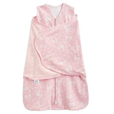 Halo Sleepsack Swaddle 100% Cotton Confetti Minnie - Pink Newborn