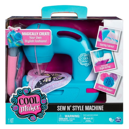 Cool Maker Sew N' Style Sewing Machine With Pom Pom Maker