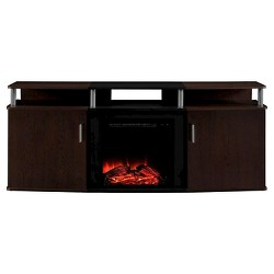 "Kimmel Electric Fireplace TV Console for TVs up to 70"" - Room & Joy"