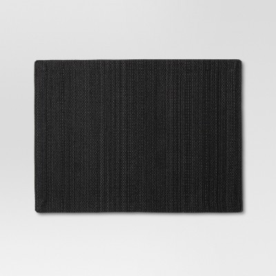 19 x14  Placemat Black - Threshold™
