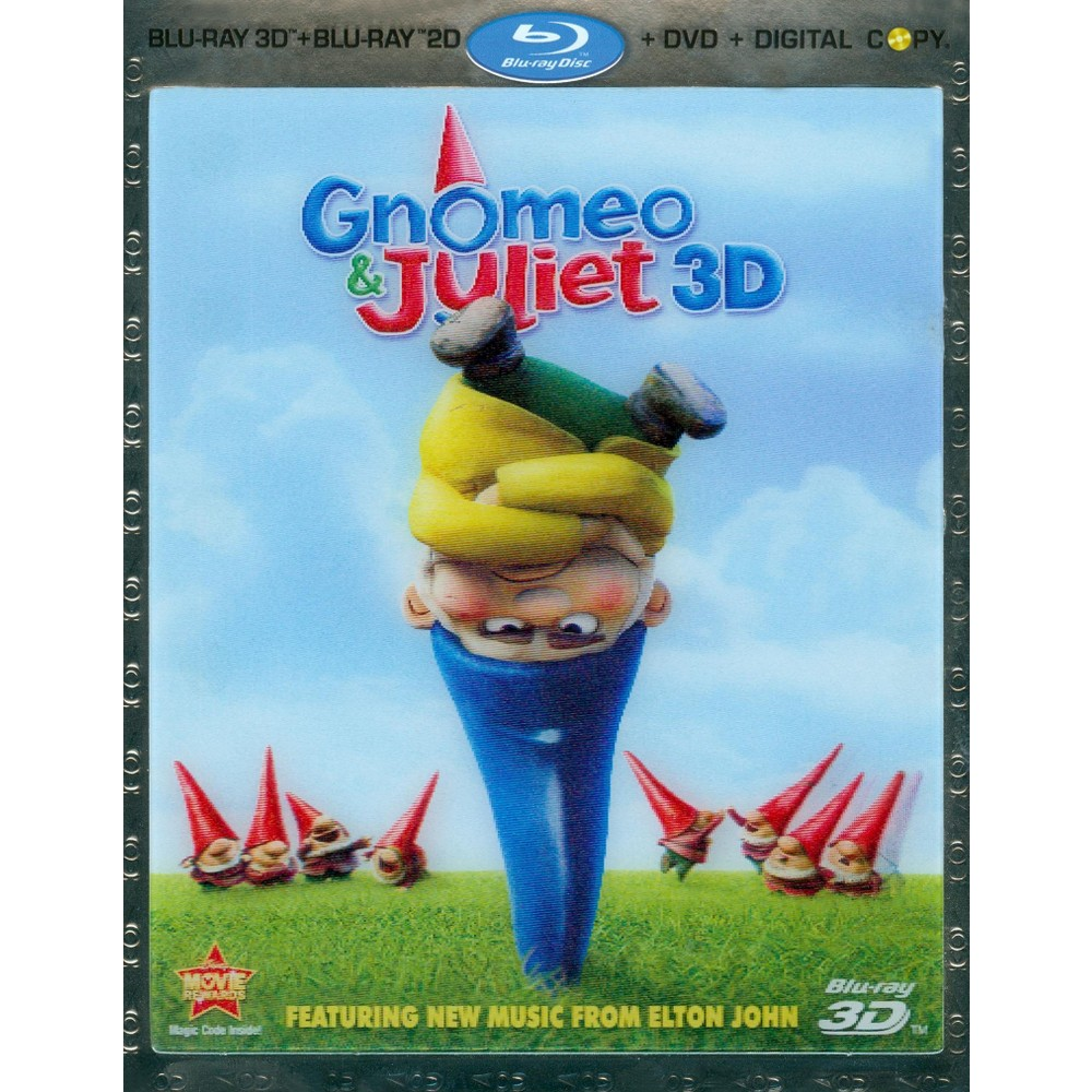 Gnomeo & Juliet 3D (3 Discs) (Includes Digital Copy) (3D) (Blu-ray/Dvd) (W) (Widescreen)