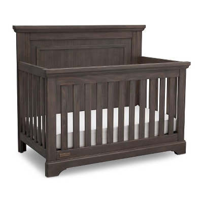 Simmons® Kids SlumberTime Paloma 4-in-1 Convertible Crib - Rustic Gray