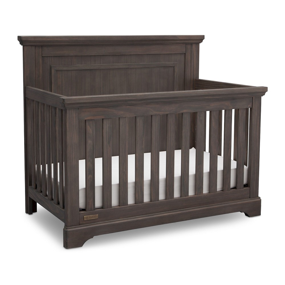 Simmons Kids SlumberTime Paloma 4-in-1 Convertible Crib - Rustic Gray