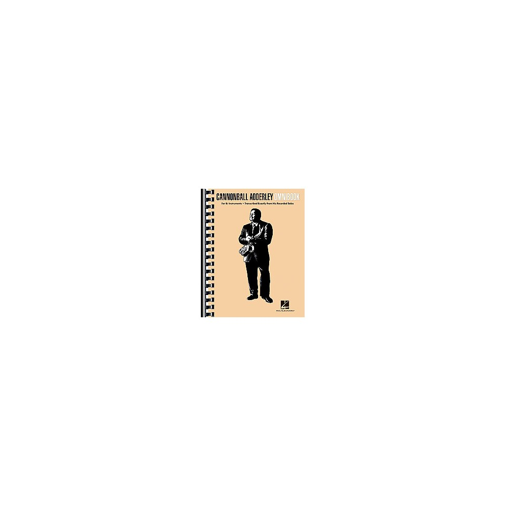 Cannonball Adderley Omnibook : For B-flat Instruments (Paperback)