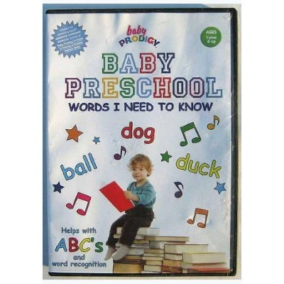 Baby Preschool: Words I Need To Know (DVD)(2013)