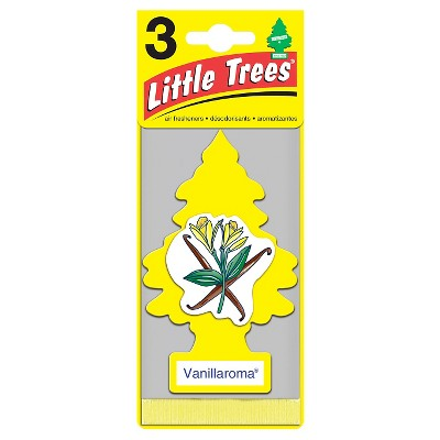 Little Trees® Vanillaroma Air Freshener 3pk