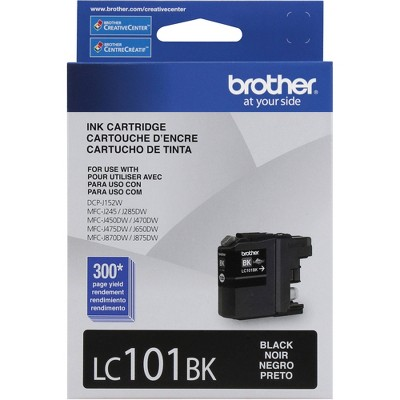 Brother LC 101BK Black Ink Cartridge Standard 69096