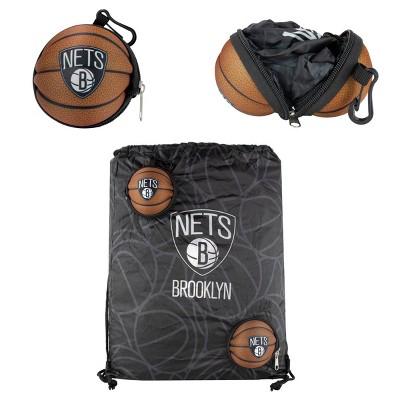 "NBA Brooklyn Nets 9"" Drawstring Bag"