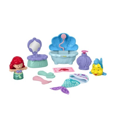 Fisher-Price Little People Disney Princess Bathtime with Ariel Playset