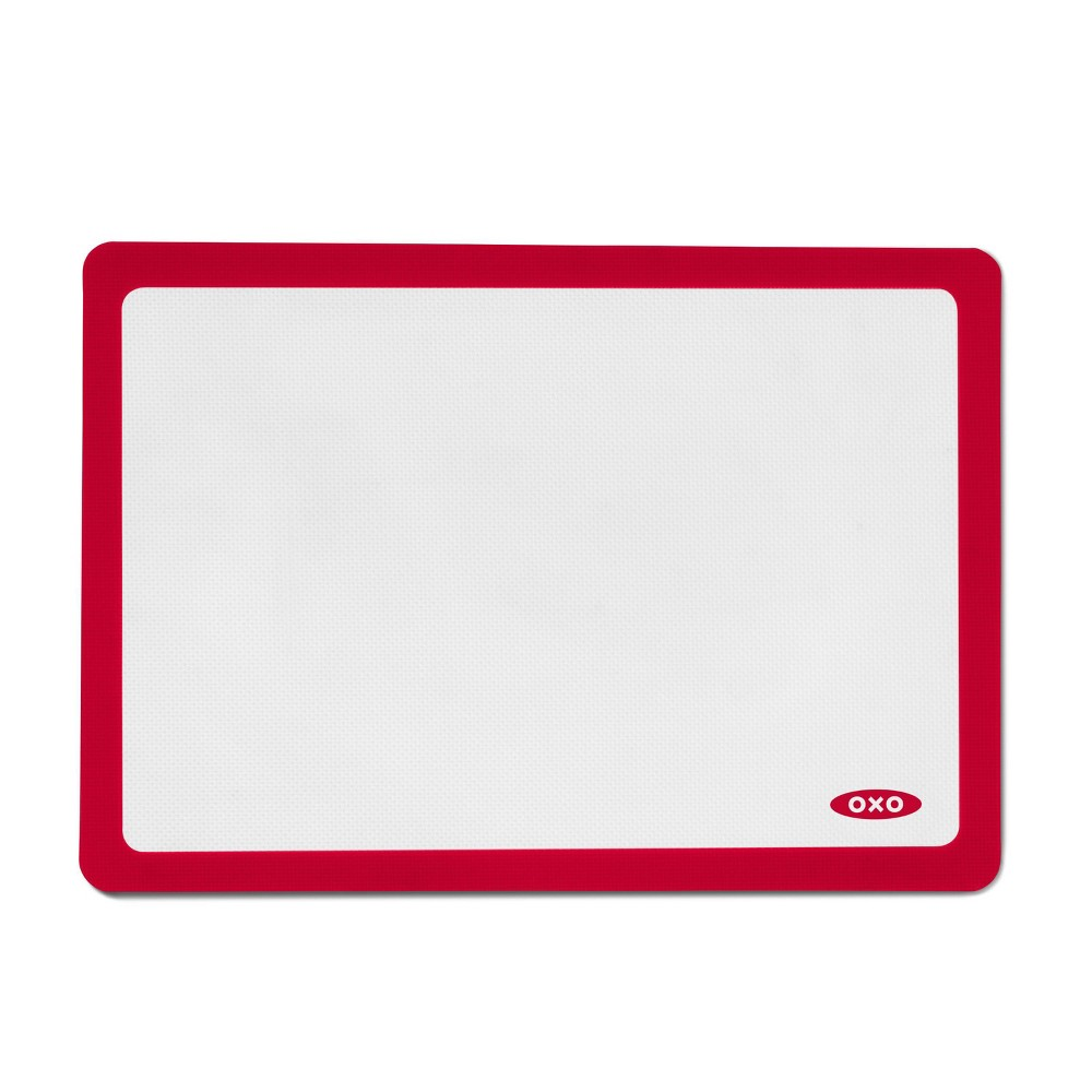 "Image of ""OXO 11.5""""x16.5"""" Silicone Baking Mat, Red"""