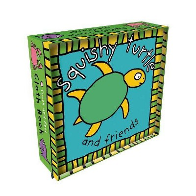Squishy Turtle Cloth Book - (Touch and Feel Cloth Books)by Roger Priddy (Novelty Book)