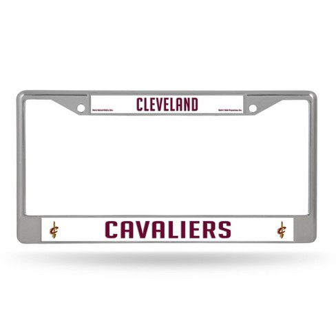 NBA Rico Industries Chrome License Plate Frame - image 1 of 1
