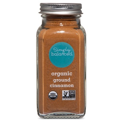 Organic Ground Cinnamon - 2.5oz - Simply Balanced™