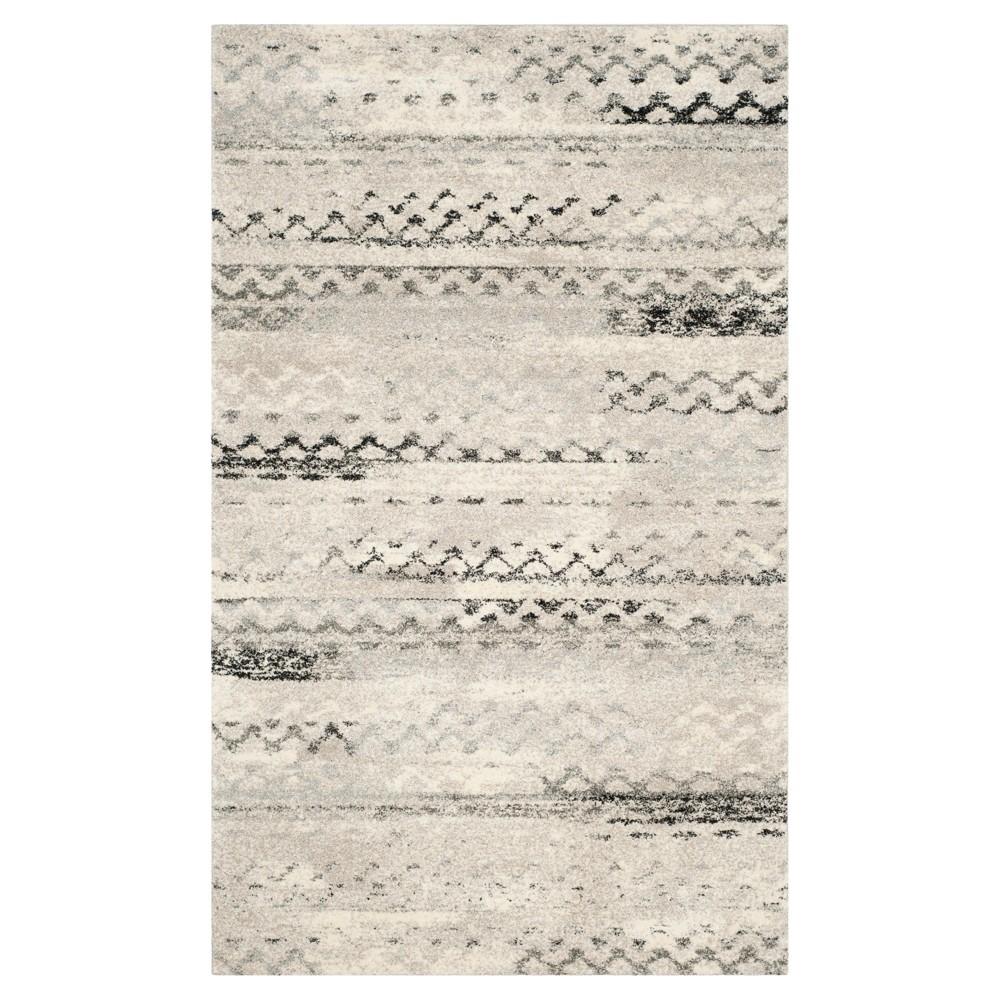 Marea Area Rug - Cream / Gray ( 5' X 8' ) - Safavieh, Beige