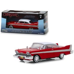 "1958 Plymouth Fury Red ""Christine"" (1983) Movie 1/43 Diecast Model Car by Greenlight"