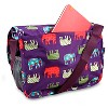 J World Terry Messenger Bag - Elephant - image 2 of 4