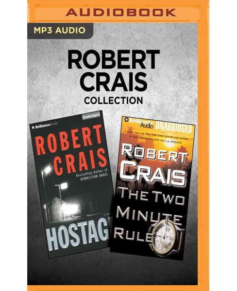 Hostage / the Two Minute Rule (MP3-CD) (Robert Crais) - image 1 of 1