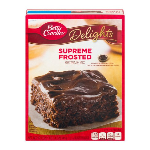 Betty Crocker Frosted Brownie Mix 191oz Target