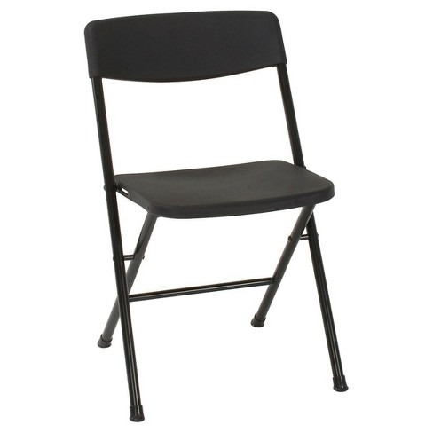Resin Folding Chair with Molded Seat and Back - (Set of 4) - Cosco - image 1 of 3