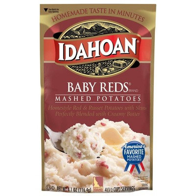 Idahoan Baby Reds Mashed Potatoes 4oz