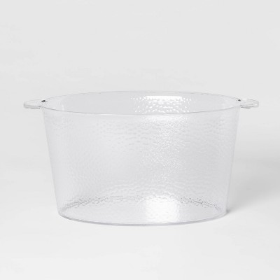 4gal Plastic Textured Beverage Tub - Threshold™