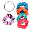 Conair Scunci Everyday & Active No Damage Scrunchies With Keeper - 5pk - image 2 of 3