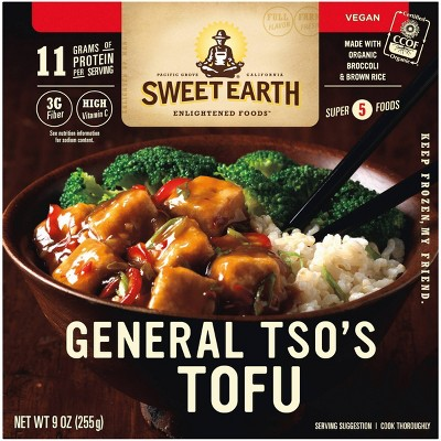 Sweet Earth Natural Foods General Frozen Tso's Tofu - 9oz