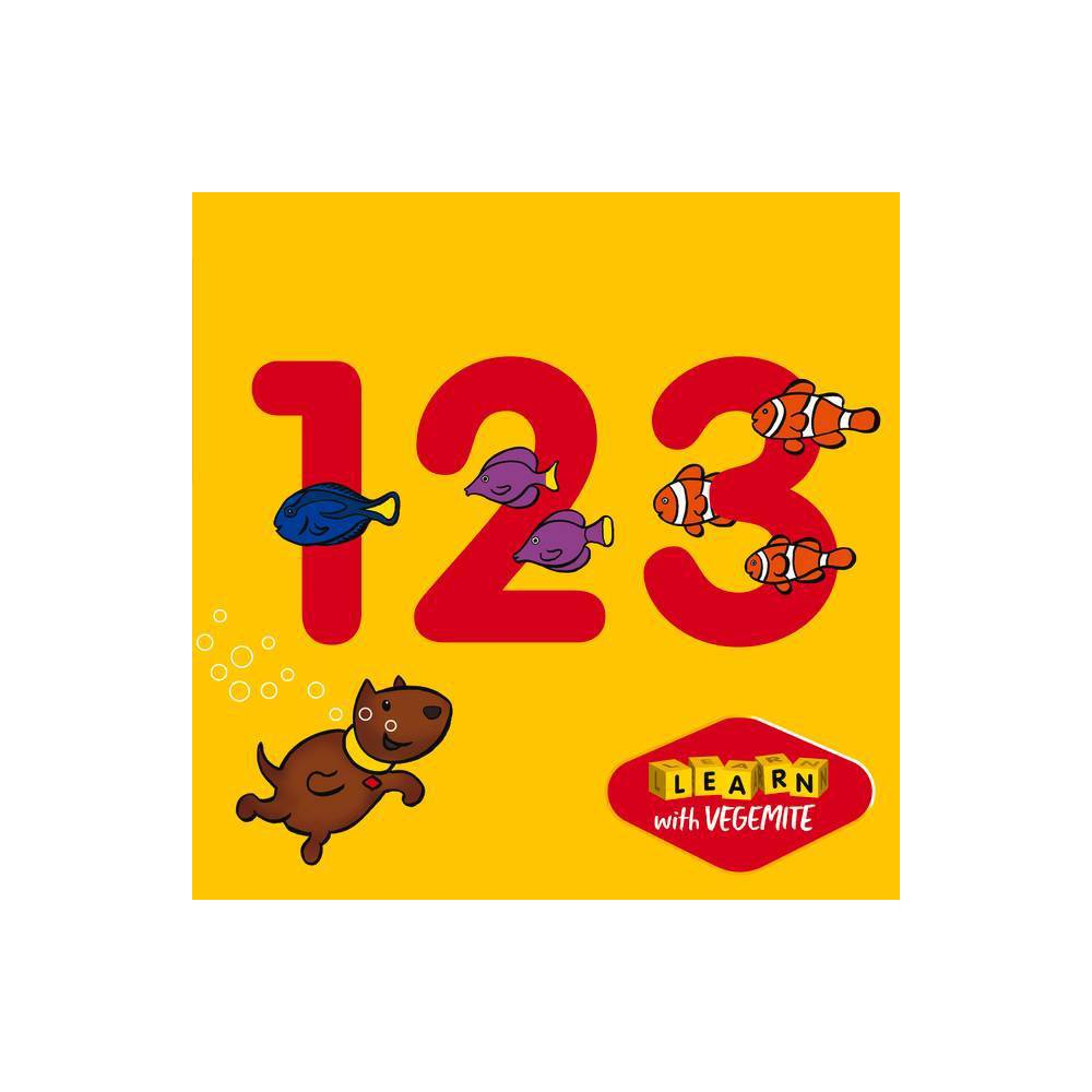 123 Vegemite By New Holland Publishers Board Book