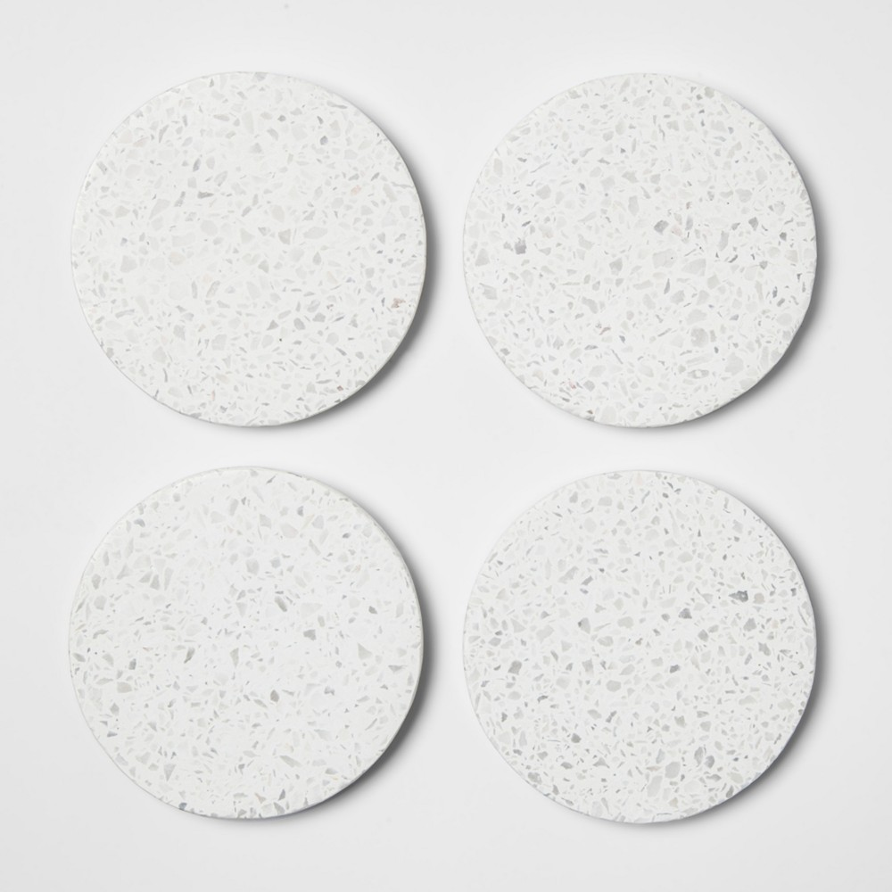 Image of Terrazzo Coaster Off White Set of 4 - Project 62