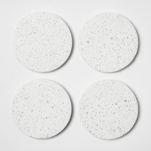 Terrazzo Coaster Off White Set of 4 - Project 62™ - image 1 of 1