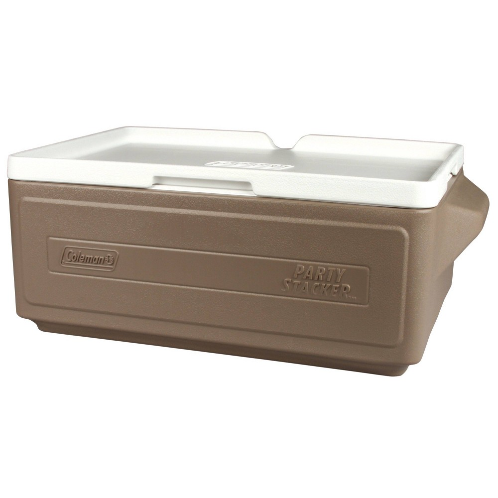 Image of Coleman 24-Can Party Stacker Portable Cooler - Gray