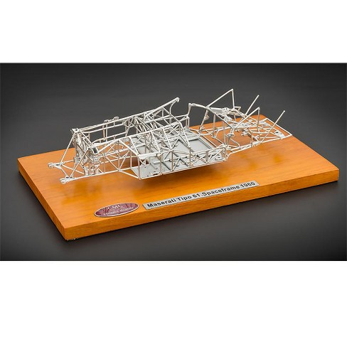 1960 Maserati Tipo 61 Birdcage Spaceframe 1/18 Diecast Model by CMC - image 1 of 1