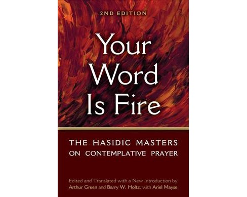 Your Word Is Fire : The Hasidic Masters on Contemplative Prayer (Hardcover) - image 1 of 1
