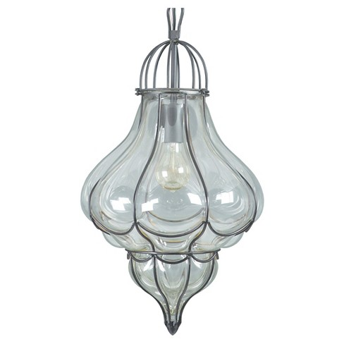Yosemite 1-Light Mini Pendant - Black - image 1 of 5