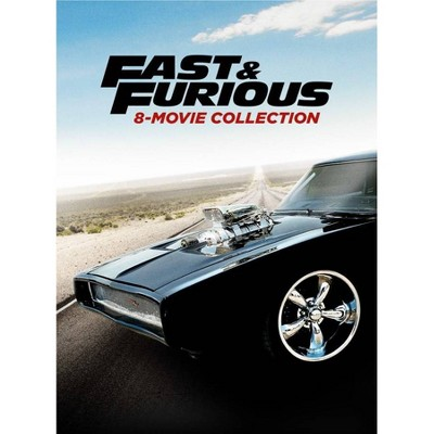 Fast & Furious 8-Movie Collection (Hobbs & Shaw Movie Cash)(DVD)