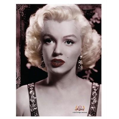 "Marilyn Monroe MR1621 Red Lips Fleece Throw Blanket 50 x 60/"""