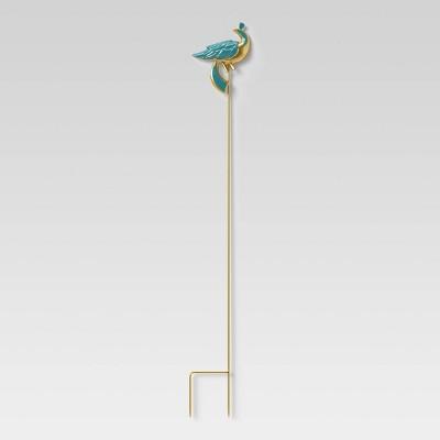 "34"" Iron and Aluminum Garden Stake Blue Bird - Opalhouse™"