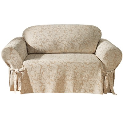 Scroll Loveseat Slipcover - Sure Fit