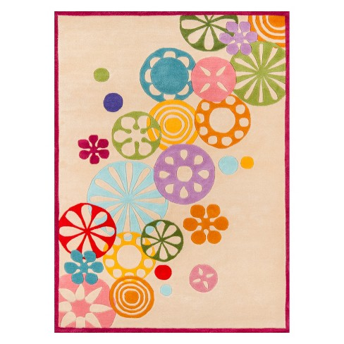 Lil Mo Hipster Shapes Tufted Accent Rug - Momeni - image 1 of 4