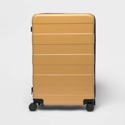 """Hardside 28"""" Spinner Suitcase Yellow - Made By Design™"""