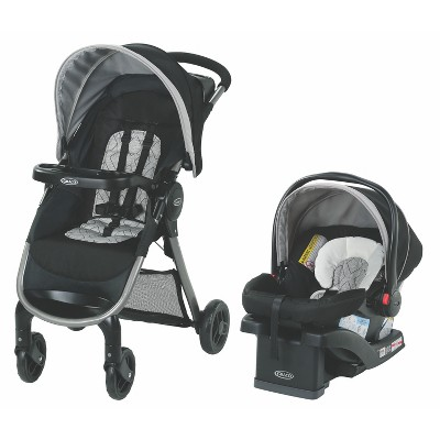 Graco Fast Action SE Travel System - Asher