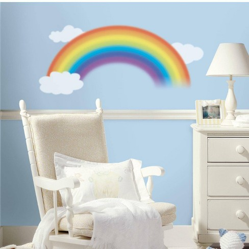 Over The Rainbow Peel and Stick Giant Wall Decal - RoomMates - image 1 of 4