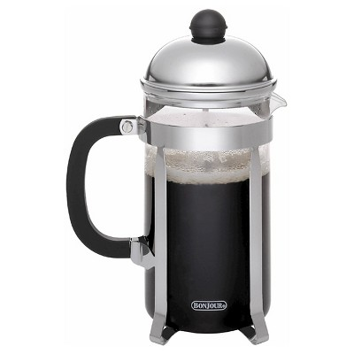 Bonjour 12 Cup French Press - Stainless Steel