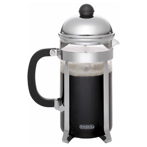 Bonjour 12 Cup French Press - Stainless Steel - image 1 of 4