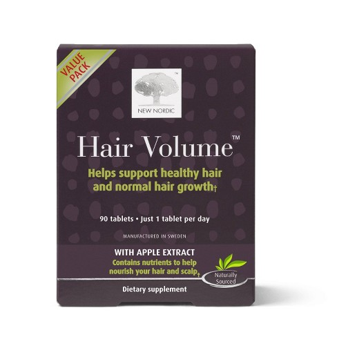 New Nordic Hair Volume Tablets - 90ct - image 1 of 3