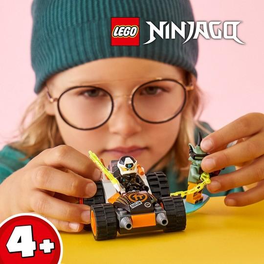 LEGO NINJAGO Cole's Speeder Car Ninja Building Kit 71706 image number null