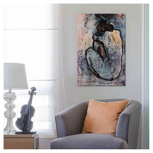Blue Nude by Pablo Picasso Canvas Print : Target