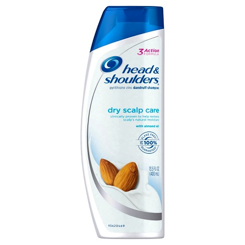 Head & Shoulders Dry Scalp Care Dandruff Shampoo with Almond Oil - 32.1 fl oz - image 1 of 2